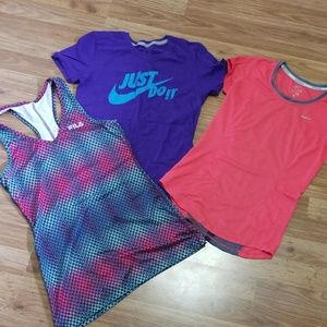 XS/S workout top bundle